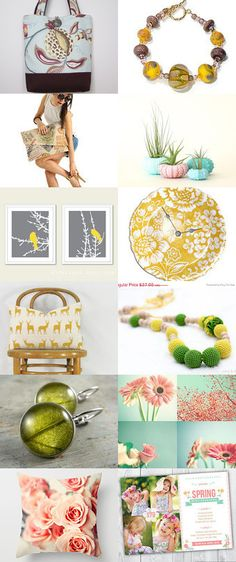 Spring is almost here! by Shannel Tamara on Etsy--Pinned with TreasuryPin.com