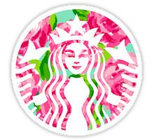 Buy 'Floral Starbucks' by erinaugusta as a Sticker or Mug. Super cute and colorful Starbucks logo! Starbucks Logo, Starbucks Coffee, Pink Starbucks, Disney Starbucks, Transparents Tumblr, Tumblr Png, Tumblr Hipster, Tumblr Stickers, Tumblr Wallpaper