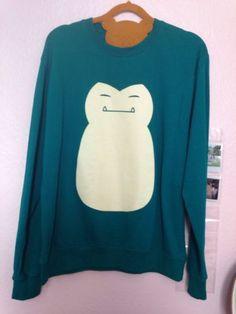 Pokemon-Snorlax-Sweater-Size-M-L