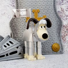 Sir Gromit Figurine by Ian Marlow (Supporting Bristol Children's Hospital) K Park, Sick Kids, Collectible Figurines, Toy Sale, Illuminated Manuscript, Stop Motion, Cool Toys, Bristol, Knight
