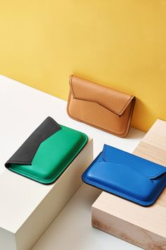 These Fossil x Opening Ceremony leather card cases are too good to pass.