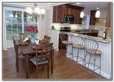 Easy tips for split level kitchen remodeling projects for Split level remodel before and after
