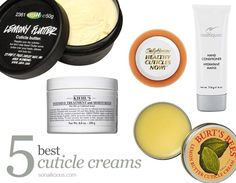 5 Best Cuticle Creams - The Essential Cuticle Care Guide Part 4.  Click for more info about the creams and where to buy.