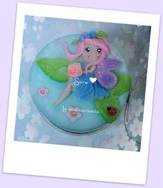 Hadas en Porcelana Fría,cold porcelain fairies, botes decorados
