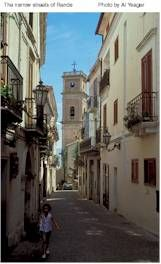 Narrow streets of Rende, Calabria, Italy. Dad's hometown!
