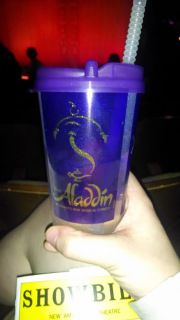 Souvenir cup from Aladdin on Broadway!