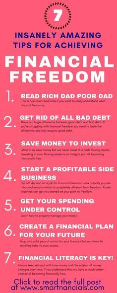 These insanely amazing tips to achieve financial freedom are seriously the best! I'm so happy I found these great tips and tricks! Now I know some awesome steps to take to become financially free! Definitely pinning!