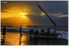 Traditional Jukung Fishing Boat, Bali