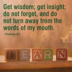 In every aspect of life we need God's wisdom. True wisdom is ...