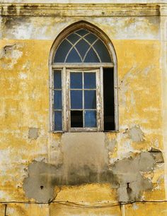 Window in Old Tel Aviv, Israel