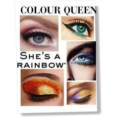 COLOUR QUEEN: Bright Eye Makeup TREND
