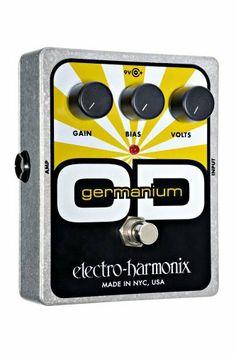 Electro-Harmonix Germanium Overdrive Pedal by Electro-Harmonix. $80.70. Save 25% Off!