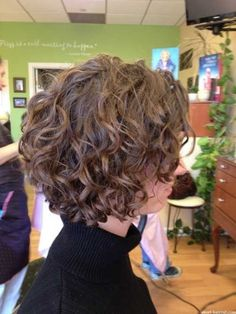 Formal Curly Hairstyle for Short Hair