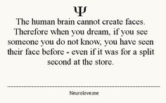 Fun Psychological Facts | dreams psychology psych-facts •