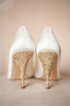 De mooiste glitterende bruiloft inspiratie - In White