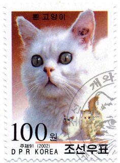 North Korea 2002 Cat Stamps