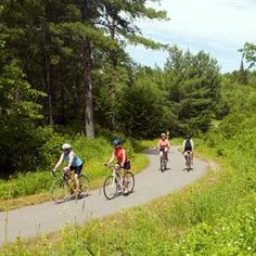 Bike the Paul Bunyan Trail