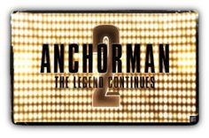 Anchorman 2 – The Legend Continues [Review] - The Grind Radio The Butterfly Effect 2, Anchorman 2, Ron Burgundy, Christina Applegate, Steve Carell, Paul Rudd, Funny Movies, Original Movie, All About Time