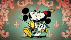 WATCH: Disney relaunches Mickey Mouse in a new, retro-style cartoon Mickey Mouse Tv Series, Disney Mickey Mouse, Mickey Mouse Y Amigos, Mickey Mouse And Friends, Animation Disney, Animation Series, Disney Love, Disney Magic, Disney Diy
