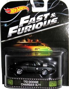 1970 Dodge Charger R/T Hot Wheels 2014 FAST & FURIOUS Movie Car Real Riders #HotWheels #Dodge
