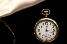 A watch which once belonged to Gustavus Seiberling, the uncle of F.A. Seiberling, is showcased at the Finer Things: Jewelry & Accessories from the 1880's -1930's exhibit at Stan Hywet Hall.