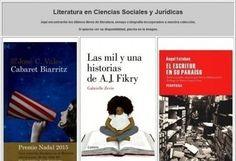 Nueva forma de conocer las novedades literarias en la Biblioteca de Ciencias Sociales y Jurídicas | Crónicas de Lecturas | Scoop.it