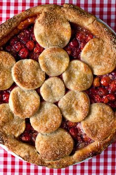 NYT Cooking: Here is an intensely buttery, crispy-crust pie that exudes loads of syrupy cherry nectar when you plunge in the knife. In a quirk of pie-making… Cherry Recipes, Pie Recipes, Dessert Recipes, Cooking Recipes, Cooking Ideas, Dessert Ideas, Vegetarian Recipes, Recipies, Sour Cherry Pie