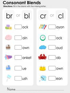 EXCLUSIVE GIFT ON THIS PAGE. *limited time* TAKE IT NOW! Teaching phonics is a great way to help your child learn to read and write with confidence! Use this free, printable phonics worksheet to get extra practice with the consonant blends br, bl, br, and Consonant Blends Worksheets, Phonics Blends, Blends And Digraphs, Letter Worksheets, Consonant Digraphs, Free Phonics Worksheets, Printable Worksheets, Free Printables, Speech Therapy