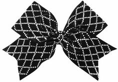 The Ultimate Black Diamond Material Girl Bow