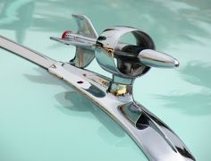 rare and unusual hood ornaments | Just a car guy : A variety of hood ornaments from Wavecrest