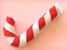 How To Make Lollipop, Candy Cane Hair Bow Clips Instruction : Hip Girl Boutique - , Ribbons, Hair Bows, Hair Clips, Hairbow Hardware, Free Hairbow Instructions