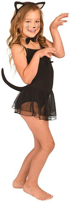 Kangaroo's Kitty Cat Costume Accessory: Kitty Cat Accessory Set For Girls Includes Kitty Cat Ears Headband, Kitty Bowtie (Kitty Bow) and Kitty Tail (Black Cat Tail) Cat Costume Kids, Toddler Costumes, Cat Costumes, Kitty Costume, Black Cat Ears Headband, Cat Headband, Cat Accessories, Kangaroo, Halloween