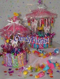 CANDY CAROUSEL DIY Instructions for Small & Large Carousels