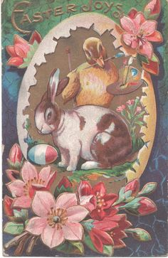 CREATIVE EXPRESSIONS U Mount Stamps EGG Happy Easter Chicks Rabbits