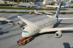 LEGO airplanes.