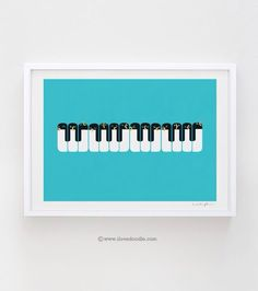 Piano...or penguins?