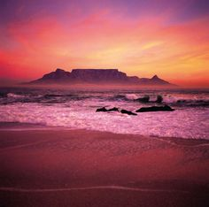 Top 10 Most Beautiful Places in Africa . - Being the second biggest continent in the globe, Africa is rich of amazing sites. It is the tour de force of g. Marrakech, Places To See, Places To Travel, Travel Things, Table Mountain Cape Town, Les Continents, Cape Town South Africa, Photos Voyages, All Nature