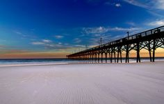 Surf City NC Pier by EastChicsArtography on Etsy, $40.00