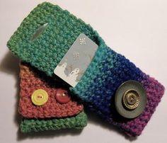 DIY Yarn Crafts: DIY Crafts: DIY Crocheted Gift Card Holders- Pattern