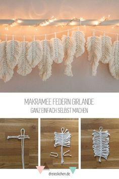 macrame plant hanger+macrame+macrame wall hanging+macrame patterns+macrame projects+macrame diy+macrame knots+macrame plant hanger diy+TWOME I Macrame & Natural Dyer Maker & Educator+MangoAndMore macrame studio Diy Crafts To Sell, Home Crafts, Macrame Projects, Diy Projects, Feather Garland, Diy Garland, Ideias Diy, Macrame Design, Boho Diy