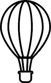 hot air balloon template - Google Search