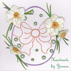 YBB 389 Paasei Paper Embroidery, Easter, Wreaths, Cards, Decor, Flowers, Decoration, Door Wreaths, Easter Activities