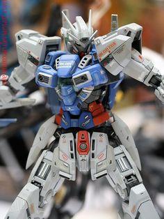 custom gundam models | Custom Gundam Exia by ~OvermanXAN on deviantART