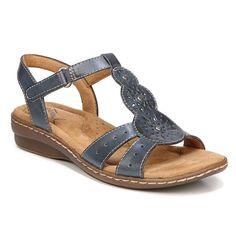 NaturalSoul by naturalizer Barton Women's Sandals, Blue #WomensSandals