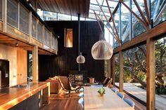 Under Pohutuka contemporary-living-room