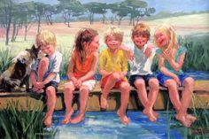 Galleries in Carmel California- Jones & Terwilliger - Corinne Hartley, Artist