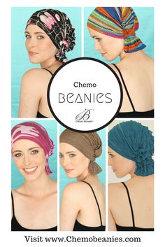 Stylish, simple, slip-on head covers for women in undergoing chemotherapy.