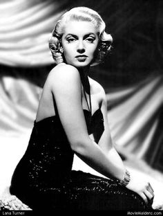 Lana Turner - 1940s actress ... when she was young - MovieMaidens.com