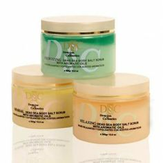 $179.95 Dead Sea Body Salt Scrub - Absorbed into a mix of luxurious aromatic oils. The scrub exfoliates the top layer of dead skin cells, helps circulation and rejuvenates your skin.