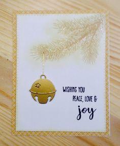 Christmas Jingles, Christmas Cards To Make, Christmas Bells, Xmas Cards, Holiday Cards, Christmas Crafts, Holiday Fashion, Holiday Style, Hanukkah Cards